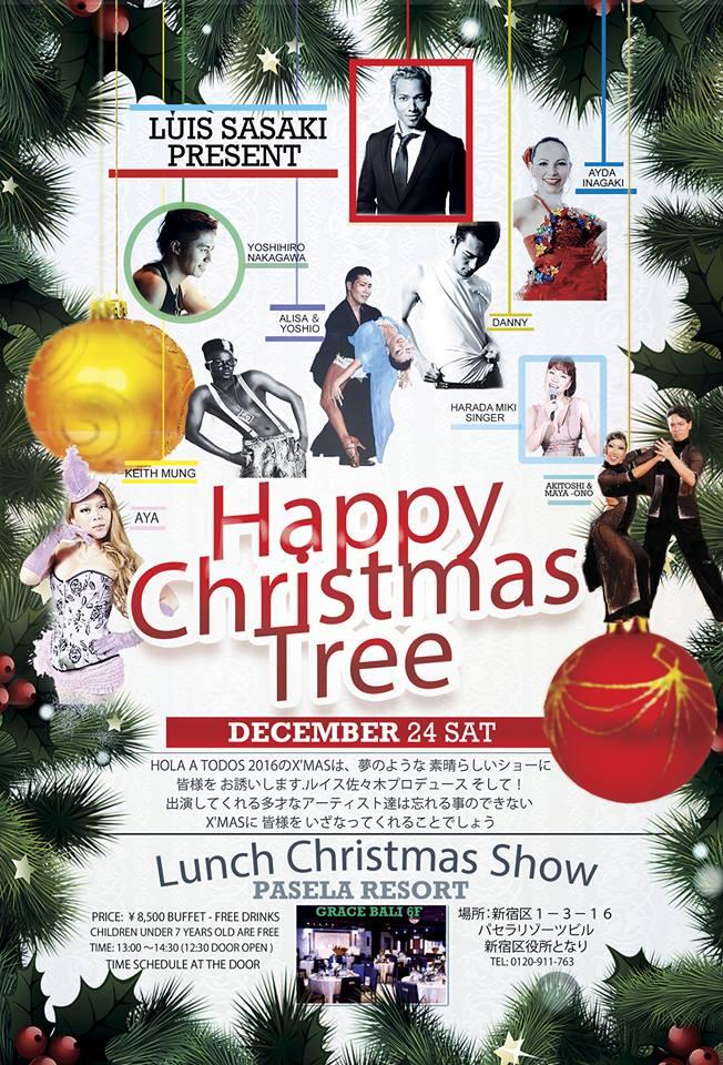 Luis Sasaki氏クリスマスショー (Lunch Xmas show por Luis Sasaki)