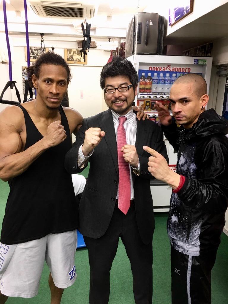 ドミニカンボクシングナイト! (Pelea del boxeo por dominicanos)