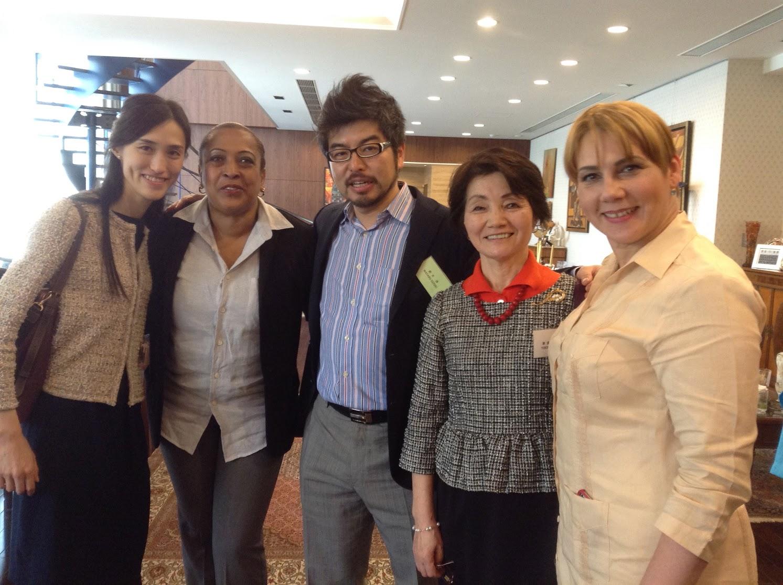 一般社団法人日本ラテンアメリカ婦人協会主催「ラテンアメリカン・ランチ」にて