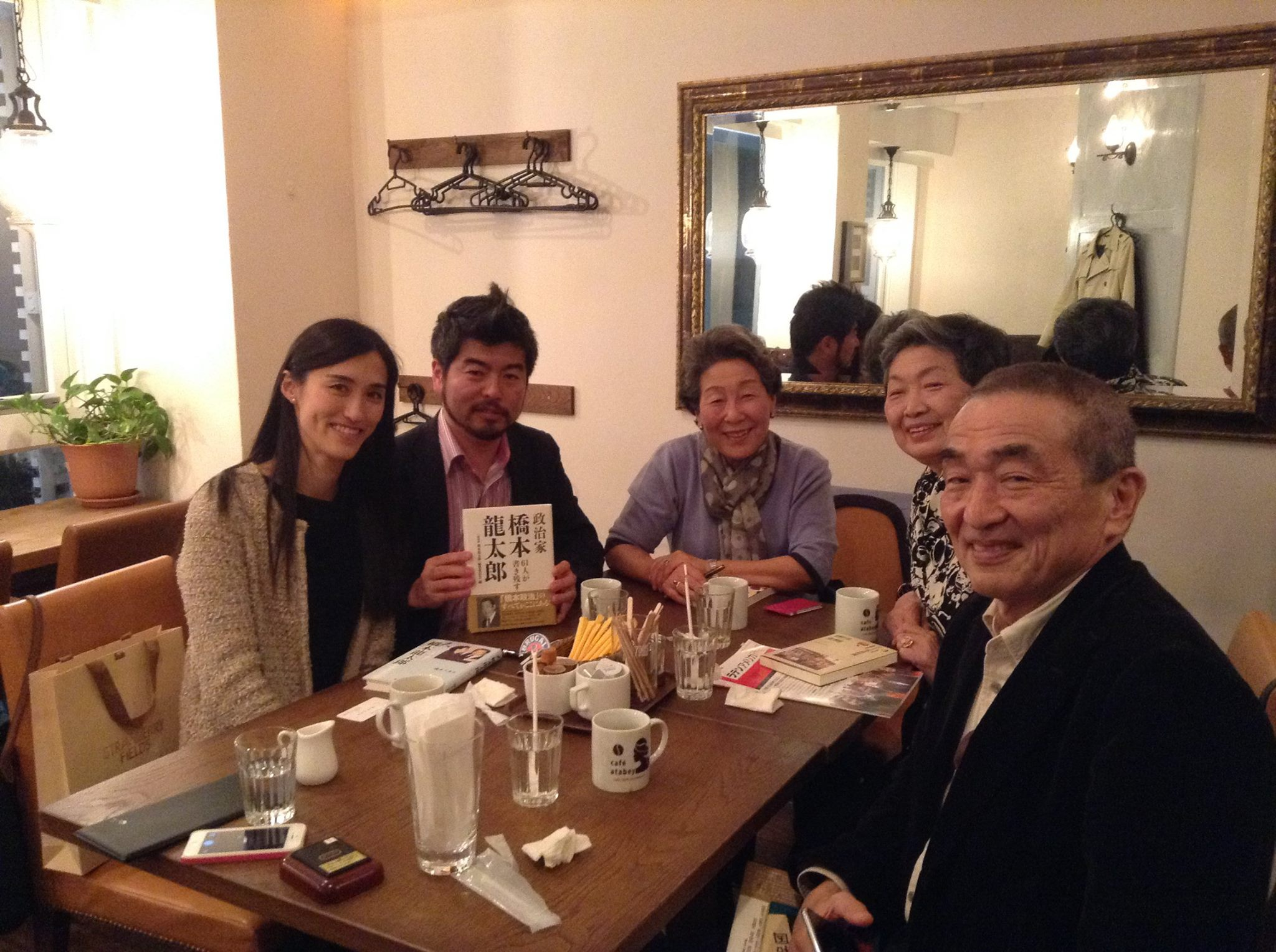 橋本久美子・元総理夫人と
