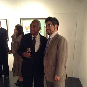 SICA(中米統合機構)諸国の絵画展に参加
