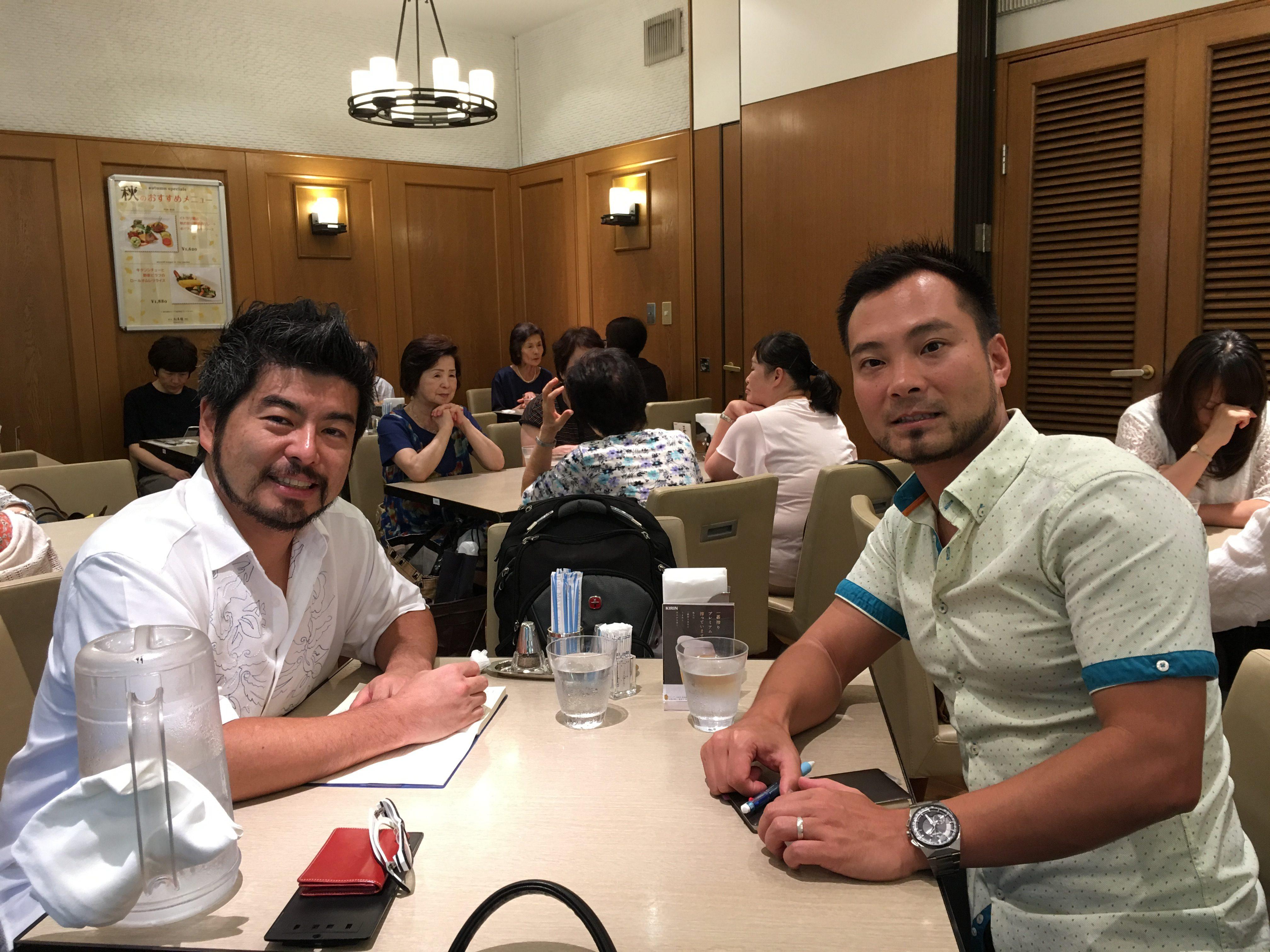 住田ワタリ氏とのミーティング