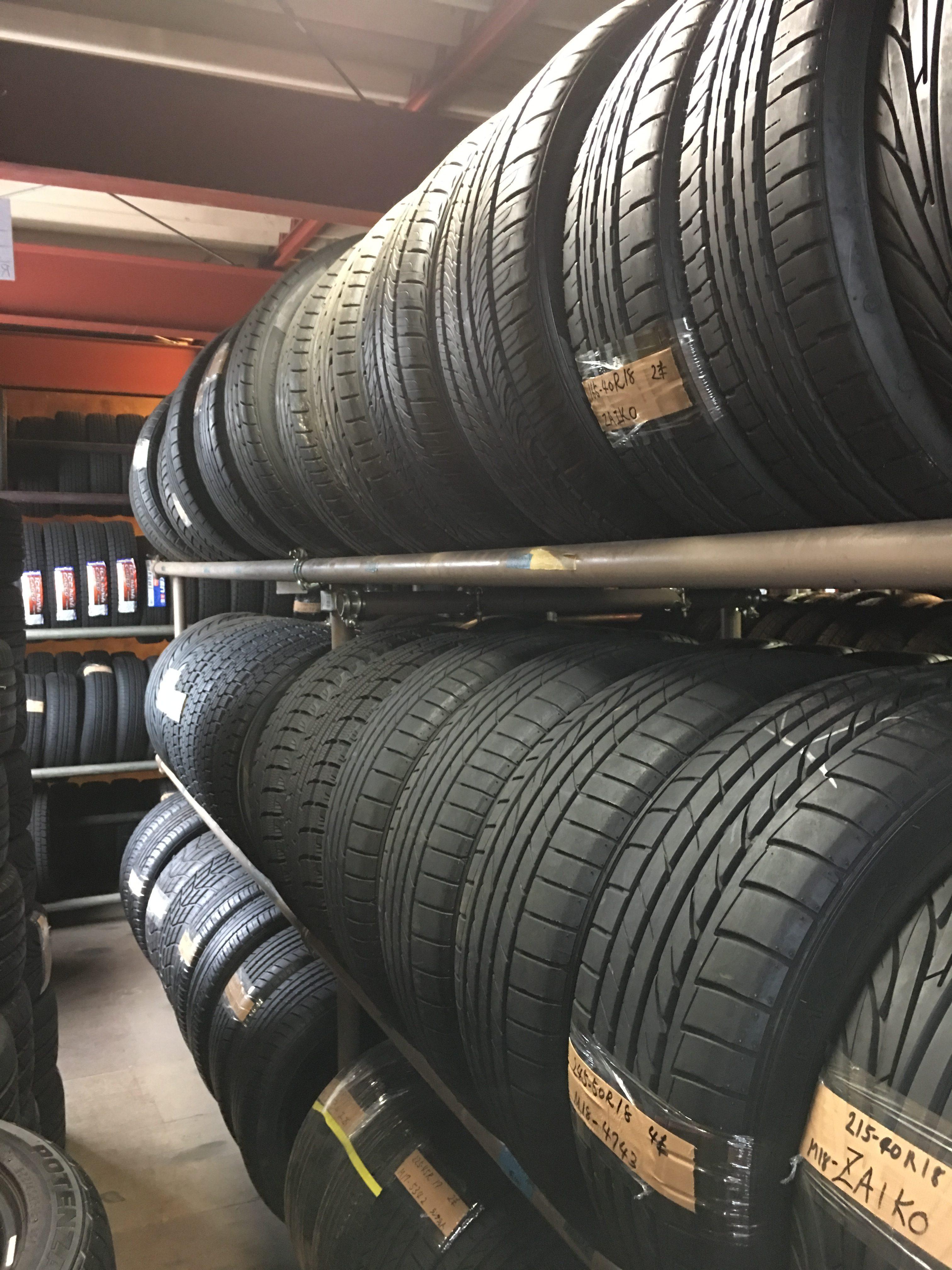 日系ドミニカ人経営のタイヤ工場訪問 (Visita a Japan Export & Import)