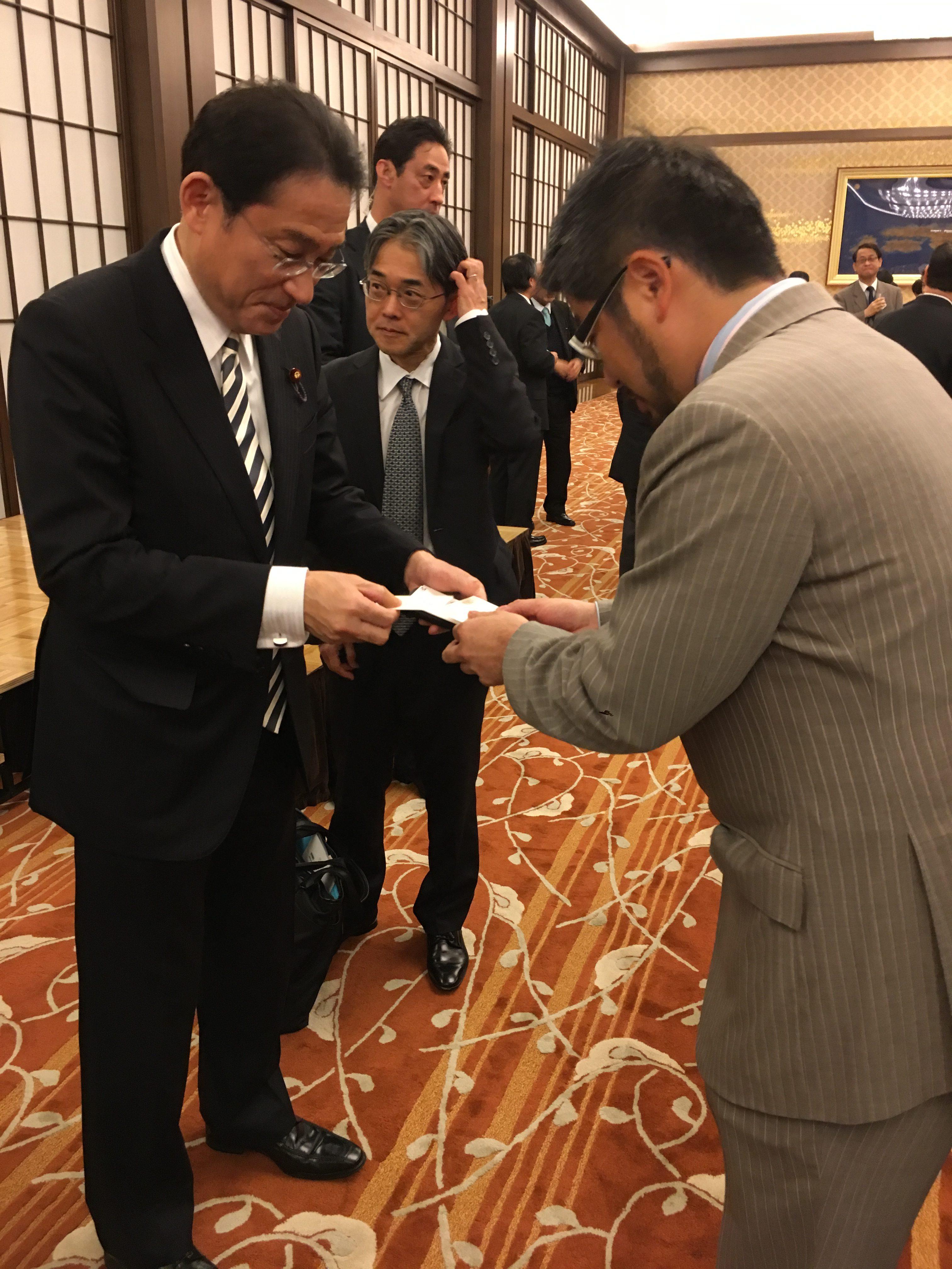 中南米大使会議レセプション参加 (Participación en la recepción de la conferencia de los embajadores japoneses en America Latina)