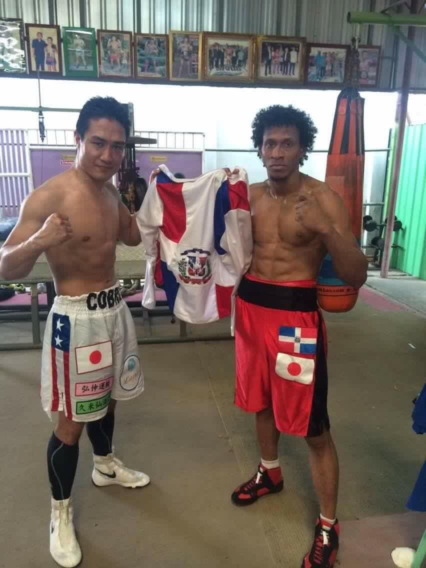 """デスティノ・ジャパン選手のボクシングマッチ(Pelea boxeo por """"Destino Japan"""")"""
