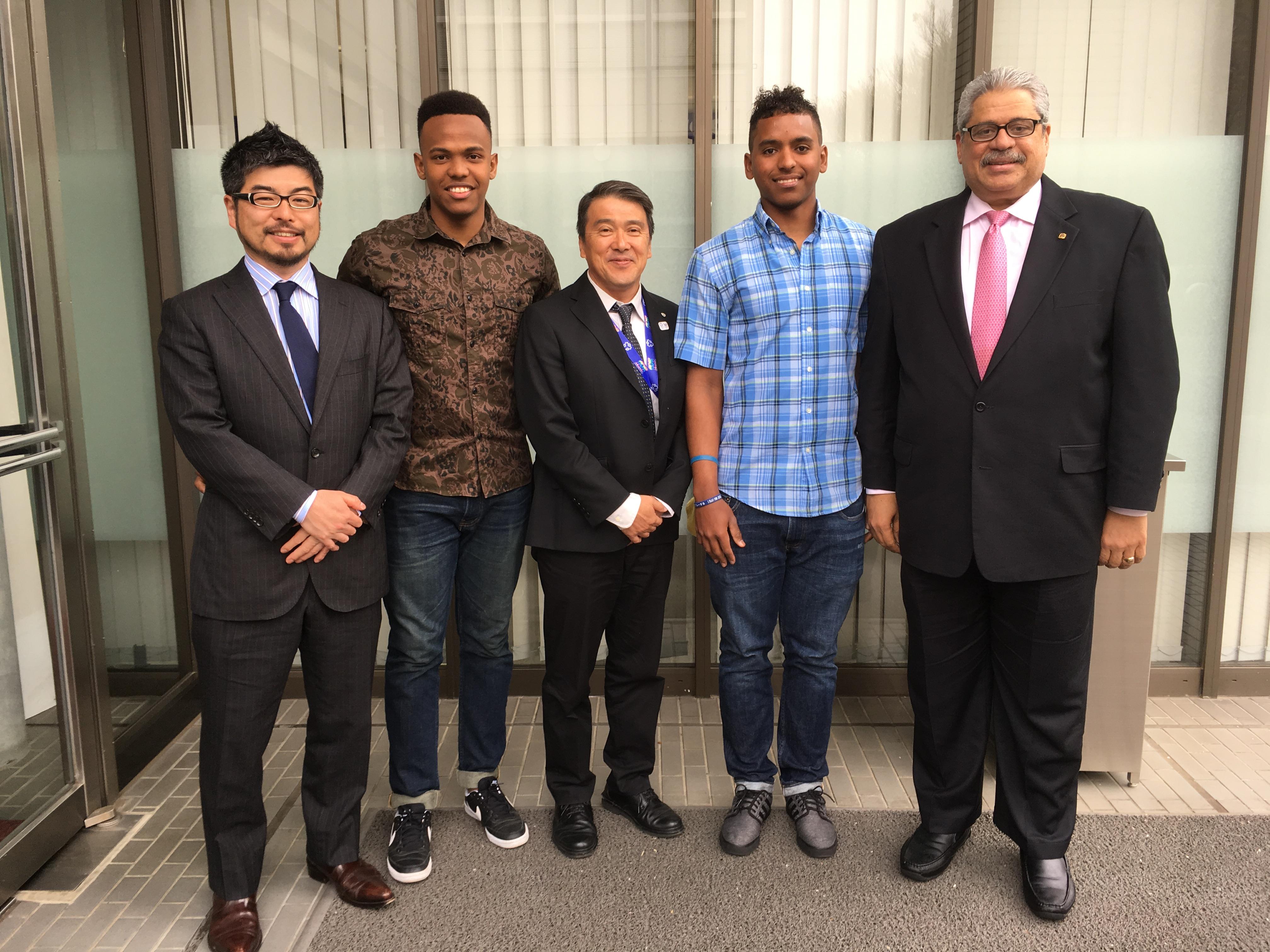 日本体育大学を訪問! (Visita a Nippon Sport Science University)